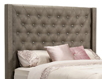 Diva Faux Leather Queen Headboard