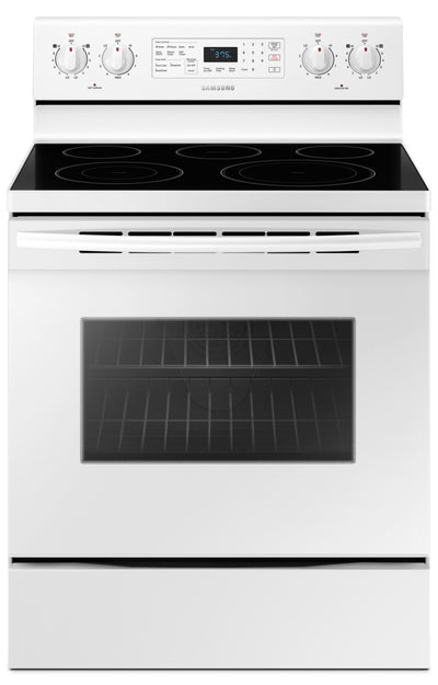 Samsung 5.9 Cu. Ft. Freestanding Electric Convection Range – NE59M4320SW/AC - Electric Range in White