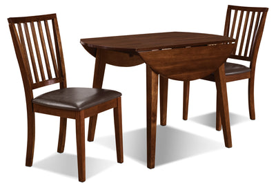 Adara 3 Piece Round Table Dining Package