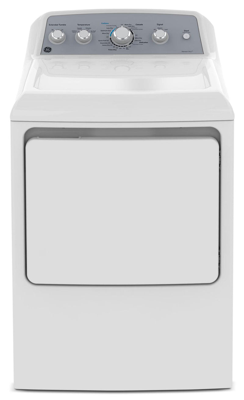 GE 7.2 Cu. Ft. Electric Dryer – GTD45EBMKWS - Dryer in White