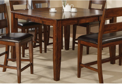 Dakota Light Pub Table - Contemporary style Dining Table in Light Cherry