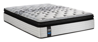 Sealy Posturepedic Proback Plus Floral Bliss Euro Pillowtop King Mattress|Matelas à Euro-plateau épais Floral Bliss PosturepedicMD PROBACKMD Plus de Sealy pour très grand lit|FLORLBKM