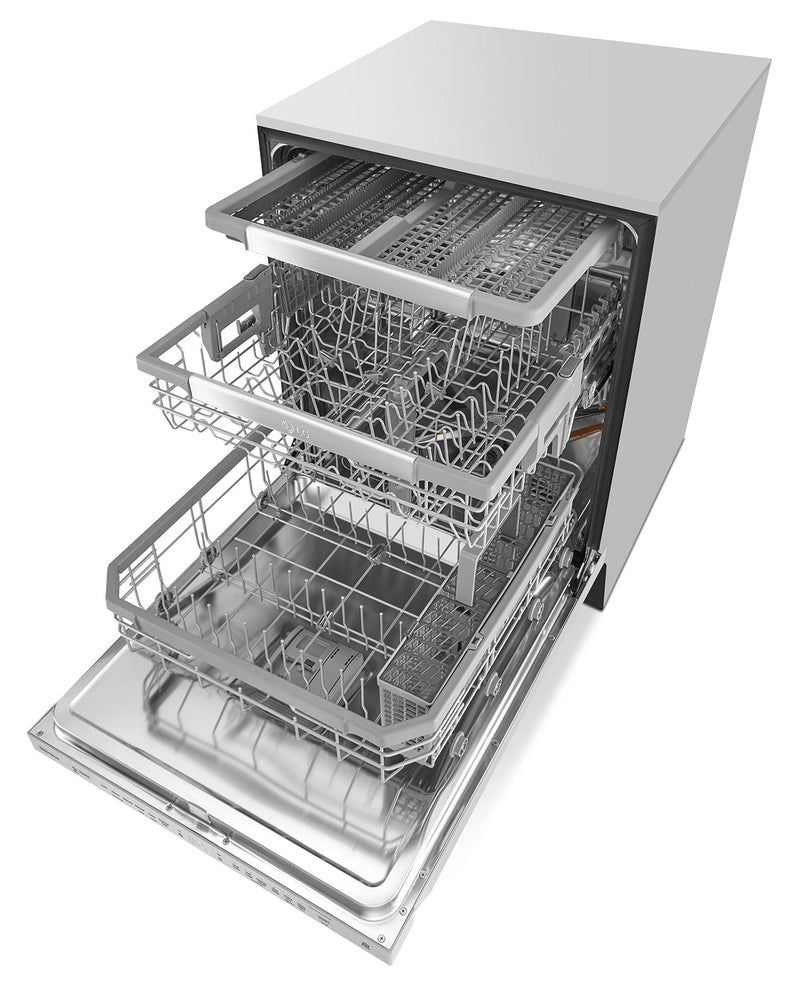 LG Top-Control Built-In Dishwasher with QuadWash LDP6797ST