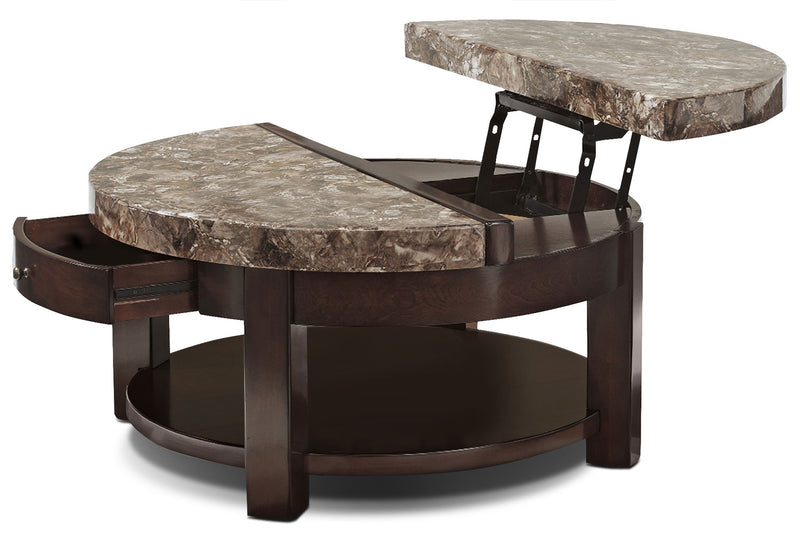Emerson Coffee Table with Lift Top|Table à café Emerson avec dessus relevable