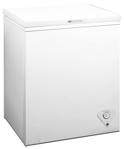 Midea 5.0 Cu. Ft. Chest Freezer - White|Midea Chest Freezer Midea URBD Collection|URBD142E