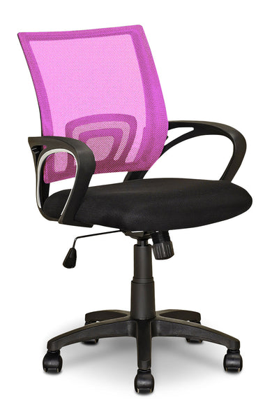 Loft Mesh Office Chair – Pink - Modern style Office Chair in Pink