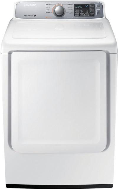 Samsung 7.4 Cu. Ft. Extra-Large Capacity Electric Dryer - White - Dryer in White