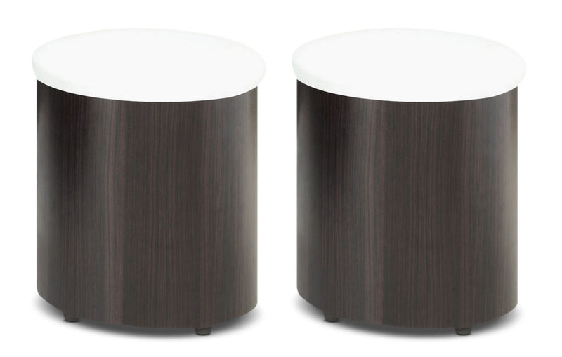 Seradala Ottomans – Set of 2|Pouf Seradala – ensemble de 2