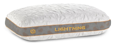 Bedgear™ Lightning 2.0 Advanced Position Pillow - Back Sleeper|Oreiller de positionnement avancéMD Lightning 2.0 de BedgearMC - pour dormeur sur le dos|BFP42BSL