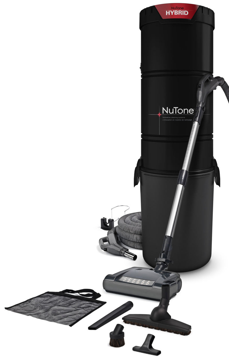 NuTone 650-Air Watt Central Vacuum System – NCKIT5000|Système d'aspirateur central NuTone de 650 air watts - NCKIT5000