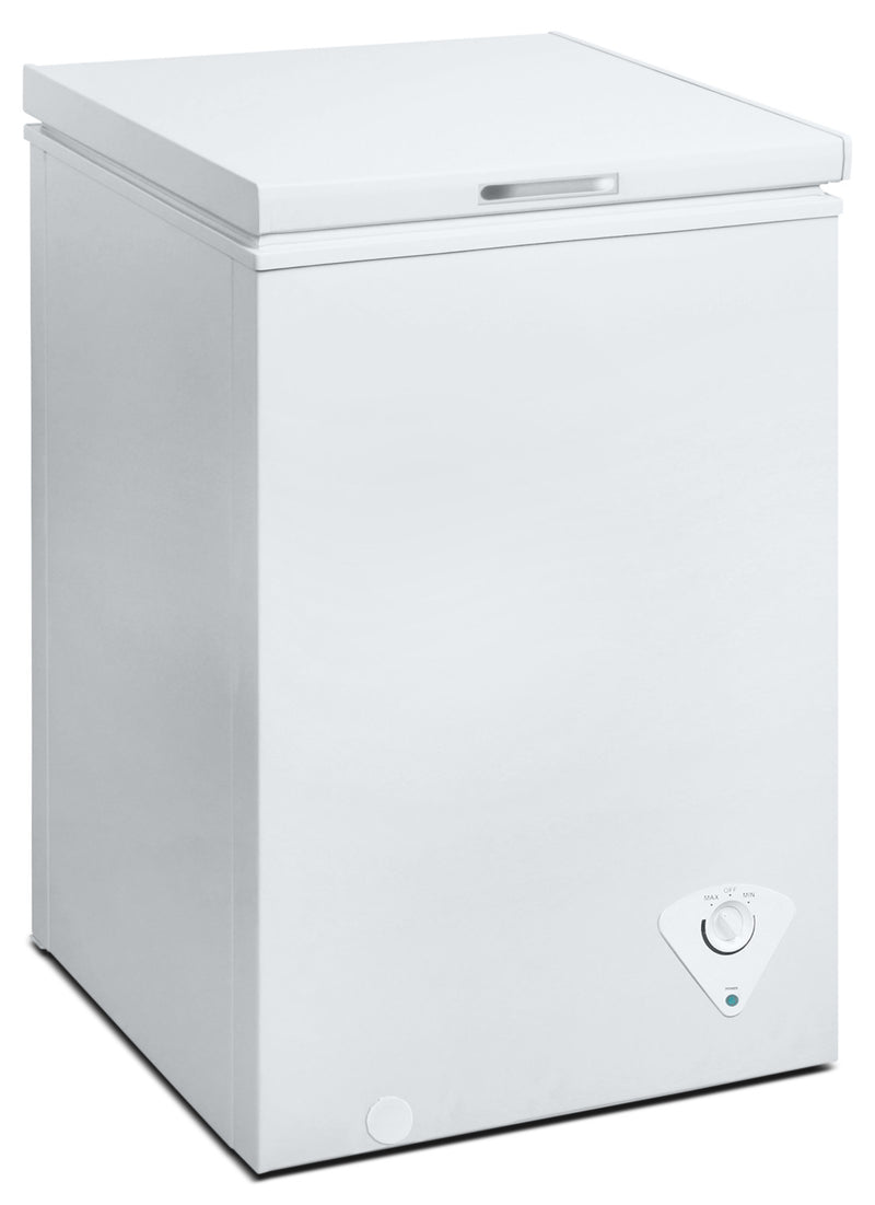 Midea 3.5 Cu. Ft. Chest Freezer - White|Congélateur coffre Midea de 3,5 pi³ - blanc