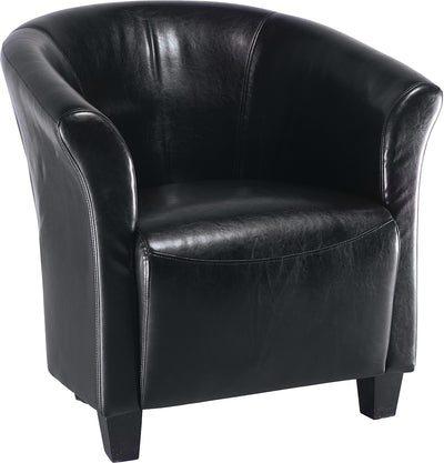 Black Accent Chair|Fauteuil d'appoint noir|ST-823BK