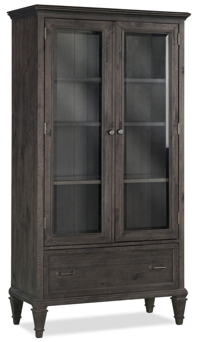 Calistoga Bookcase with Doors|Bibliothèque Calistoga avec portes|CAL40BKC