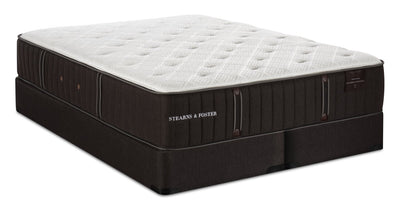 Stearns & Foster Founders Collection Garden Gate King Mattress Set