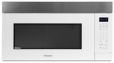 Panasonic Genius Inverter Over-the-Range Microwave Oven – NN-ST27HW - Over-the-Range Microwave in White