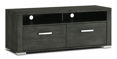 "Allendale 56"" TV Stand - Anthracite - Modern style TV Stand in Anthracite Particle Board and Laminate"