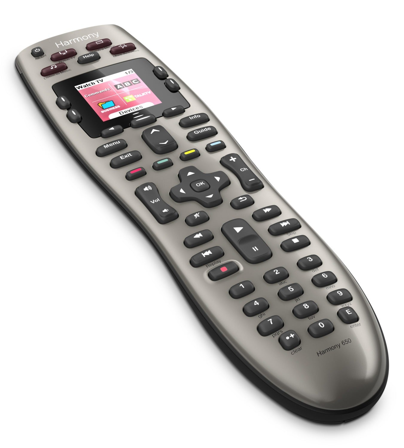 Logitech Harmony® 650 Universal Remote with Colour Screen