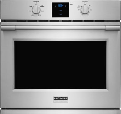 Frigidaire Professional 30'' Single Electric Wall Oven – FPEW3077RF - Electric Wall Oven in Stainless Steel