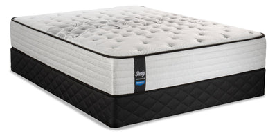 Sealy Posturepedic Proback Plus Geranium Queen Mattress Set