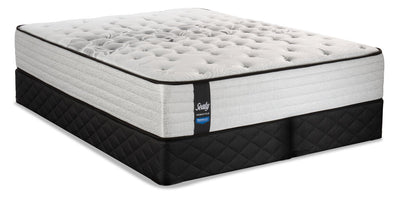 Sealy Posturepedic Proback Plus Geranium Split Queen Mattress Set