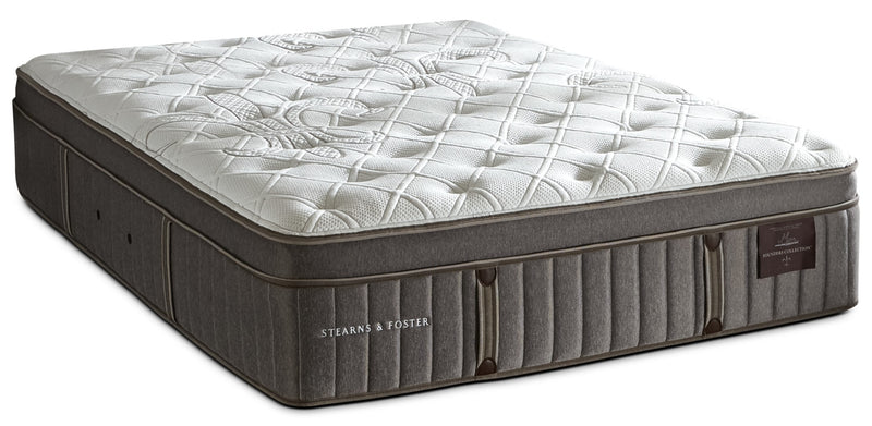 Stearns & Foster Wynford Plush Euro-Top Full Mattress|Matelas moelleux à Euro-plateau Wynford de Stearns & Foster pour lit double