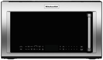 KitchenAid 1.9 Cu. Ft. Convection Microwave - YKMHC319ES - Over-the-Range Microwave in Stainless Steel