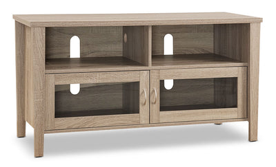 "Bailey 47"" TV Stand – Grey - Contemporary style TV Stand in Grey Wood"