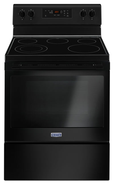 Maytag 5.3 Cu. Ft. Electric Freestanding Range – YMER6600FB - Electric Range in Black