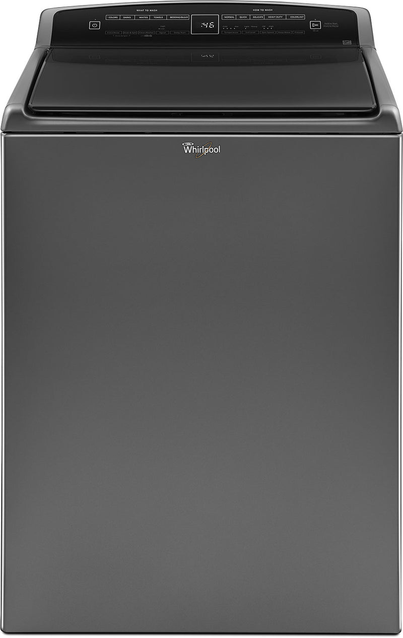 Whirlpool 5.5 Cu. Ft. HE Top-Load Washer with Water Faucet – WTW7500GC|Laveuse Whirlpool haute efficacité de 5,5 pi3 avec robinet d'eau – WTW7500GC