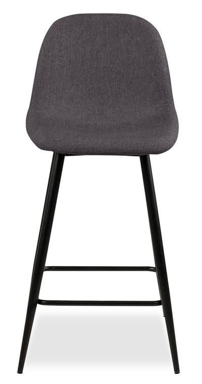 Wilma Counter-Height Chair – Grey|Chaise Wilma de hauteur comptoir - grise|WILMGCSC