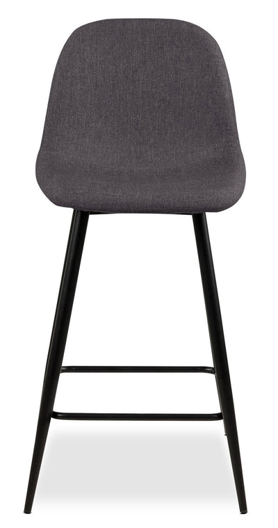 Wilma Counter-Height Chair – Grey|Chaise Wilma de hauteur comptoir - grise|WILMGCSC - Open-Box