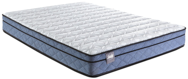 Sealy Belfort Euro-Top Full Mattress|Matelas à Euro-plateau Belfort de Sealy pour lit double
