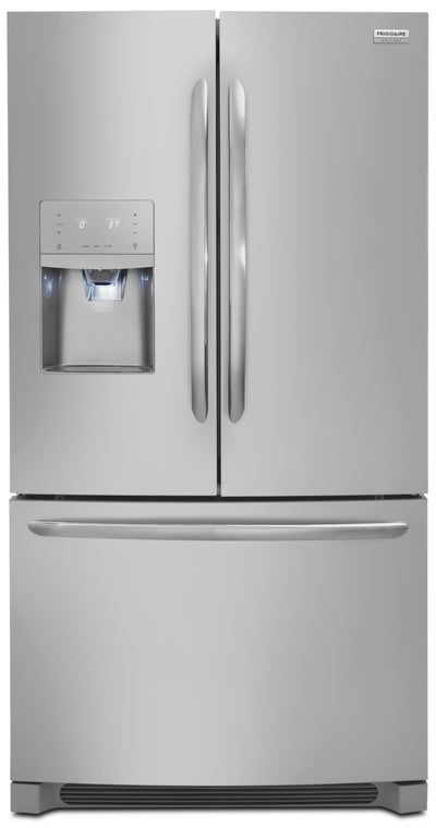 Frigidaire Gallery 21.9 Cu. Ft. Counter-Depth French-Door Refrigerator – FGHD2368TF - Refrigerator in Stainless Steel