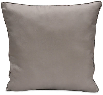 Solid Charcoal Accent Pillow|Coussin décoratif anthracite uni|GSOLIDPP