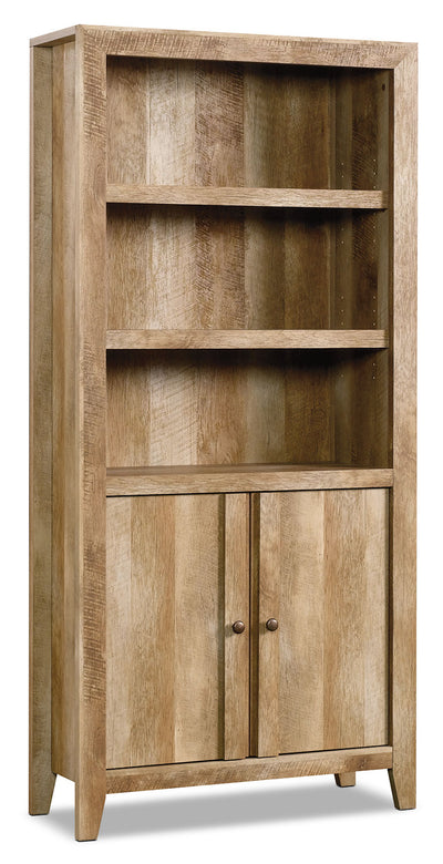Dakota Pass Library – Craftsman Oak - Contemporary style Bookcase in Light Brown Wood