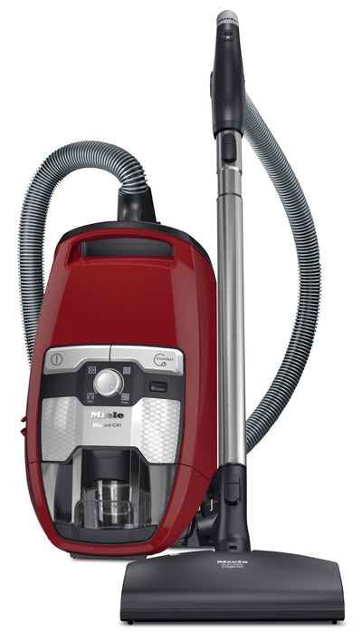 Miele Blizzard CX1 Cat & Dog Bagless Canister Vacuum – 41KCE037CDN - Vacuum in Red