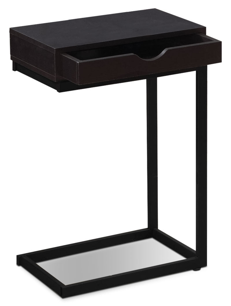 Dorset Accent Table – Cappuccino|Table d'appoint Dorset - cappuccino