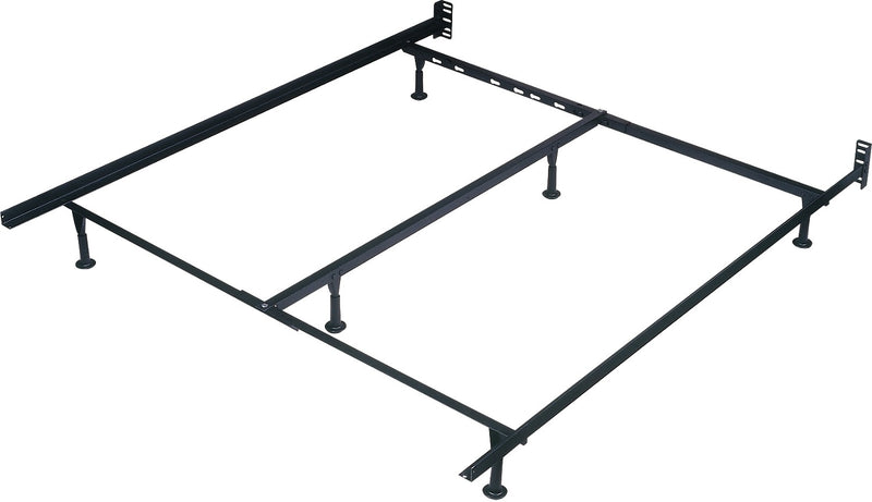 Extra Long Deluxe Twin / Full / Queen Glide Bedframe|Châlit de luxe extra long avec patins pour lit simple, double et grand lit
