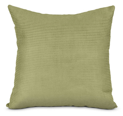 Zip Accent Pillow – Green|Coussin décoratif Zip - vert|72952ADP