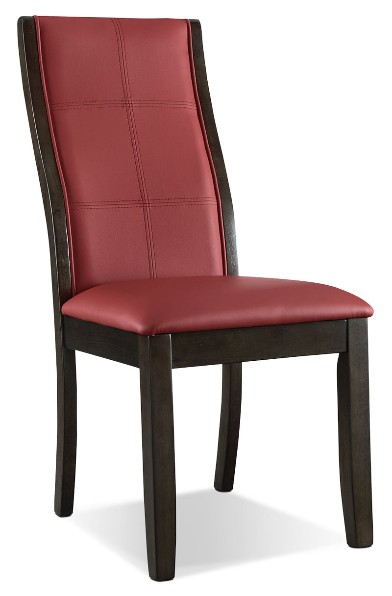 Tyler Dining Chair – Red|Chaise de salle à manger Tyler - rouge