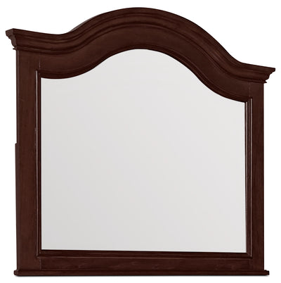 Carmen Mirror – Cherry - Traditional style Mirror in Cherry Poplar Solids and Birch Veneers