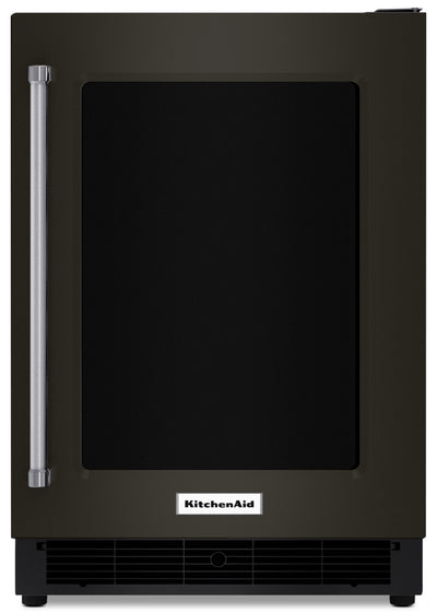 KitchenAid 5.1 Cu. Ft. Under-Counter Refrigerator - KURR304EBS|Réfrigérateur compact KitchenAid de 5,1 pi3 sous le comptoir - KURR304EBS|KURR304B