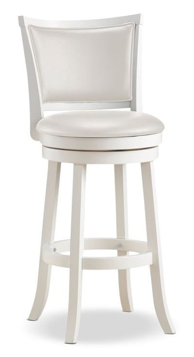 Woodgrove Bar-Height Dining Stool|Tabouret Woodgrove en bois blanchi|DWG-119B