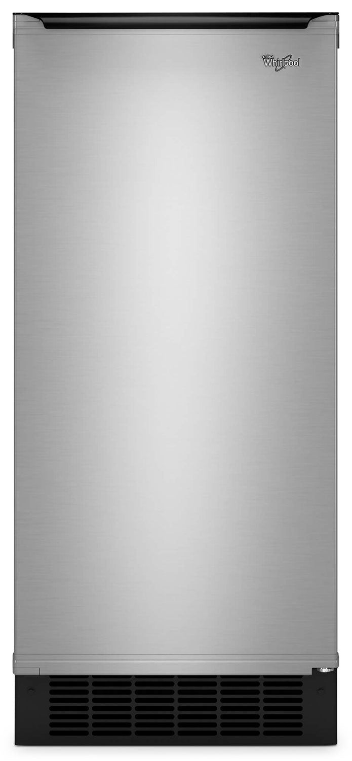 "Whirlpool Gold® 15"" Ice Maker with Reversible Door - GI15NDXZB