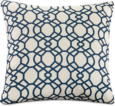 Trellis Accent Pillow – Blue|Coussin décoratif treillis - bleu|792870DP