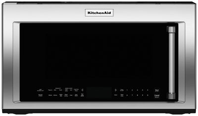KitchenAid 1.9 Cu. Ft. Convection Microwave with High-Speed Cooking - Stainless Steel - Over-the-Range Microwave in Stainless Steel