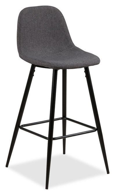 Wilma Bar-Height Chair – Grey|Chaise Wilma de hauteur bar - grise|WILMGBSC