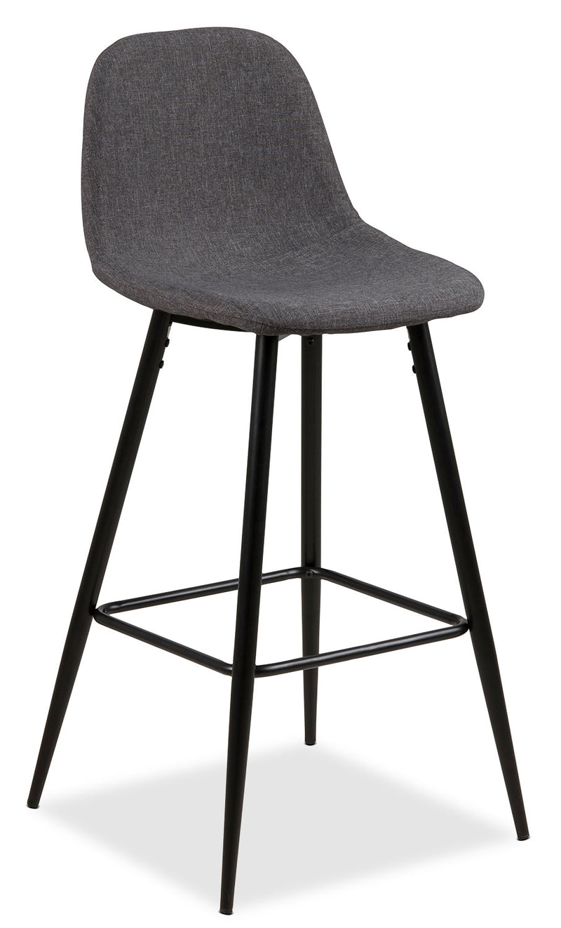 Wilma Bar-Height Chair – Grey|Chaise Wilma de hauteur bar - grise