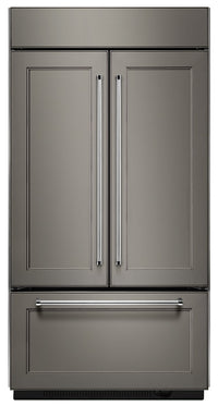 KitchenAid 24.2 Cu. Ft. Built-In French-Door Refrigerator – Panel Ready KBFN502EPA