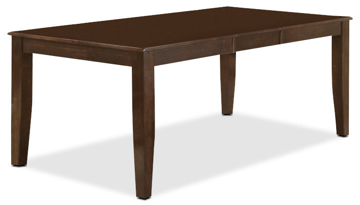 Dakota Dining Table - Contemporary style Dining Table in Dark Cherry